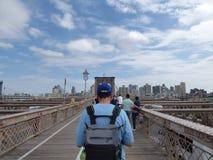 γέφυρα Μπρούκλιν στοκ εικόνες με δικαίωμα ελεύθερης χρήσης