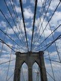 γέφυρα Μπρούκλιν Στοκ φωτογραφία με δικαίωμα ελεύθερης χρήσης