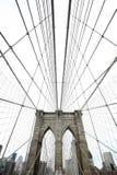 γέφυρα Μπρούκλιν Στοκ εικόνα με δικαίωμα ελεύθερης χρήσης
