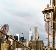γέφυρα Μπρούκλιν Νέα Υόρκη Στοκ εικόνες με δικαίωμα ελεύθερης χρήσης
