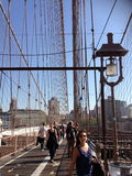 γέφυρα Μπρούκλιν Στοκ Φωτογραφίες