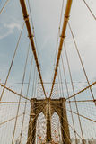 γέφυρα Μπρούκλιν Στοκ Εικόνες