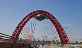 γέφυρα Μόσχα εικονογραφ&i στοκ εικόνα με δικαίωμα ελεύθερης χρήσης