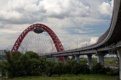 γέφυρα Μόσχα Στοκ Εικόνες