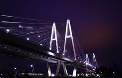 Γέφυρα νύχτας στοκ φωτογραφία με δικαίωμα ελεύθερης χρήσης