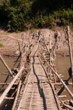 γέφυρα ξύλινη στοκ εικόνες