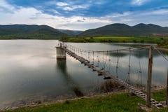 γέφυρα ξύλινη Στοκ φωτογραφία με δικαίωμα ελεύθερης χρήσης
