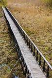 γέφυρα ξύλινη Στοκ εικόνα με δικαίωμα ελεύθερης χρήσης