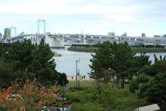 Γέφυρα ουράνιων τόξων στο Τόκιο Στοκ εικόνα με δικαίωμα ελεύθερης χρήσης