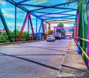 Γέφυρα ουράνιων τόξων στοκ φωτογραφία