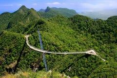 Γέφυρα ουρανού Langkawi, νησί Langkawi, Μαλαισία στοκ φωτογραφία με δικαίωμα ελεύθερης χρήσης