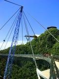 Γέφυρα ουρανού Langkawi, νησί Langkawi, Μαλαισία στοκ εικόνες