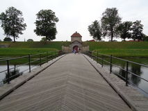 Γέφυρα οχυρών στοκ φωτογραφίες