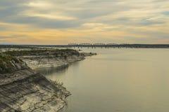 Γέφυρα πέρα από τη λίμνη amistad Στοκ φωτογραφία με δικαίωμα ελεύθερης χρήσης
