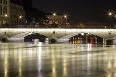 Γέφυρα πέρα από τον ποταμό Sil Στοκ Φωτογραφίες