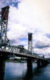Γέφυρα πέρα από το Πόρτλαντ Στοκ εικόνα με δικαίωμα ελεύθερης χρήσης