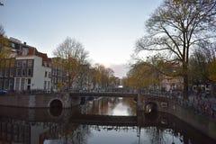 Γέφυρα πέρα από το Brouwersgracht στοκ φωτογραφία