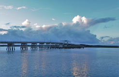 Γέφυρα πέρα από Baeufort Στοκ φωτογραφία με δικαίωμα ελεύθερης χρήσης