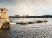 Γέφυρα πακτώνων Στοκ εικόνες με δικαίωμα ελεύθερης χρήσης