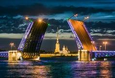 Γέφυρα παλατιών Στοκ Εικόνα