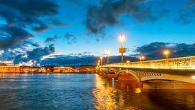 Γέφυρα Πετρούπολη Άγιος Στοκ Εικόνες