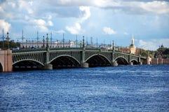 γέφυρα Πετρούπολη Άγιος tro Στοκ φωτογραφίες με δικαίωμα ελεύθερης χρήσης