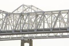 Γέφυρα ποτάμι Μισισιπή στη Νέα Ορλεάνη, Λουιζιάνα Στοκ Φωτογραφίες