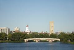 Γέφυρα ποταμών του Charles Στοκ εικόνα με δικαίωμα ελεύθερης χρήσης