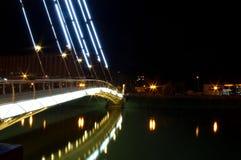 Γέφυρα ποταμών Στοκ εικόνα με δικαίωμα ελεύθερης χρήσης