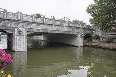 Γέφυρα ποταμών Qinhuai Στοκ φωτογραφίες με δικαίωμα ελεύθερης χρήσης