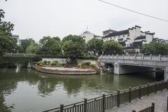 Γέφυρα ποταμών Qinhuai Στοκ φωτογραφία με δικαίωμα ελεύθερης χρήσης