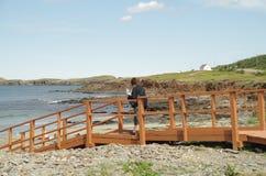 γέφυρα πουθενά Στοκ Εικόνες