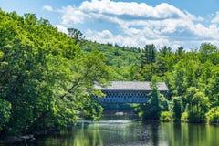 γέφυρα που καλύπτεται henniker Στοκ φωτογραφία με δικαίωμα ελεύθερης χρήσης