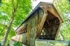 γέφυρα που καλύπτεται henniker Στοκ Εικόνες