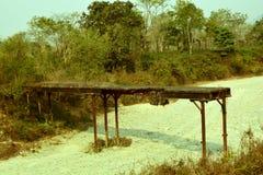γέφυρα που σπάζουν παλα&iota στοκ εικόνες
