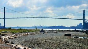 Γέφυρα πυλών λιονταριών Στοκ Εικόνα