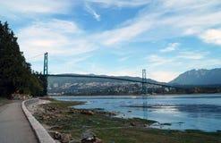 Γέφυρα πυλών λιονταριών Στοκ Εικόνες