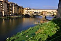 Γέφυρα πόλεων της Φλωρεντίας, Ιταλία   Στοκ φωτογραφία με δικαίωμα ελεύθερης χρήσης