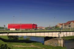 Γέφυρα πόλεων Przemysl Στοκ Εικόνες