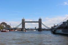 Γέφυρα πύργων, Λονδίνο, Αγγλία (χτισμένο 1886†«1894) Στοκ φωτογραφία με δικαίωμα ελεύθερης χρήσης