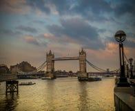 Γέφυρα πύργων, Λονδίνο Στοκ εικόνα με δικαίωμα ελεύθερης χρήσης