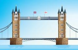 Γέφυρα πύργων του Λονδίνου Στοκ Εικόνα