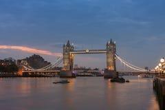 Γέφυρα πύργων το πρωί, Λονδίνο, Αγγλία Στοκ φωτογραφία με δικαίωμα ελεύθερης χρήσης