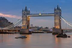 Γέφυρα πύργων το πρωί, Λονδίνο, Αγγλία Στοκ Εικόνα