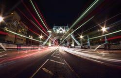 Γέφυρα πύργων Στοκ εικόνα με δικαίωμα ελεύθερης χρήσης