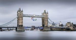 Γέφυρα πύργων. Στοκ φωτογραφία με δικαίωμα ελεύθερης χρήσης