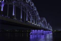 γέφυρα Ρήγα Στοκ Εικόνα