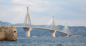 Γέφυρα Ρίο-Antirion Στοκ εικόνες με δικαίωμα ελεύθερης χρήσης