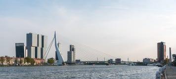 Γέφυρα Ρότερνταμ Erasmus Στοκ Εικόνα