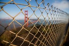 Γέφυρα Σαν Φρανσίσκο GoldenGate Στοκ φωτογραφία με δικαίωμα ελεύθερης χρήσης